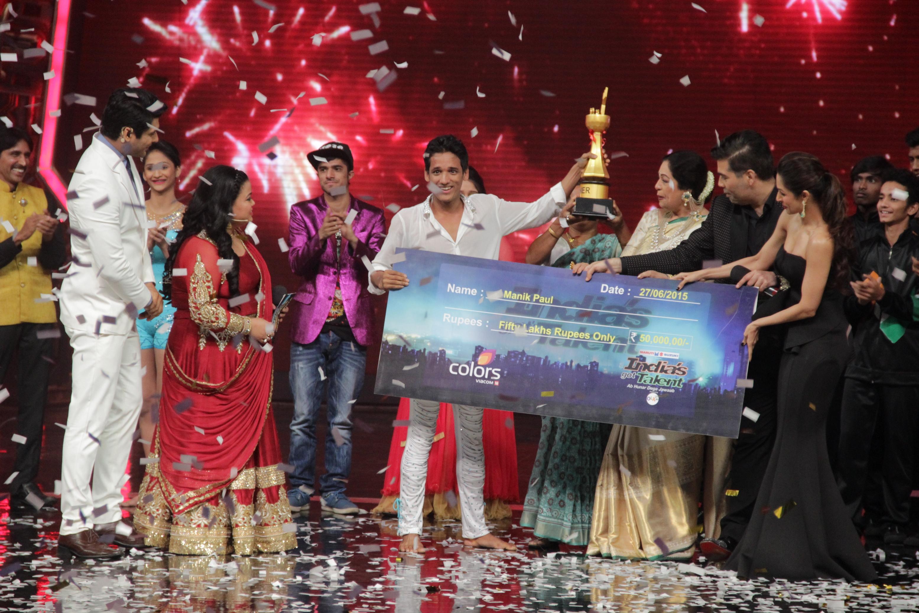 India's Got Talent Winner Name