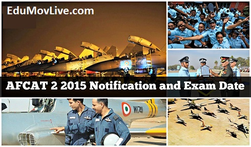 AFCAT 2 Application Form 2015