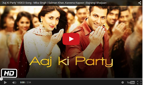Aaj Ki Party Video Song