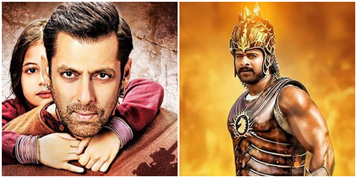 Baahubali Vs Bajrangi Bhaijaan Box Office Collection