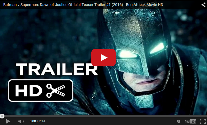 Batman Vs Superman Official Trailer