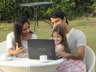 Harshaali Malhotra Parents