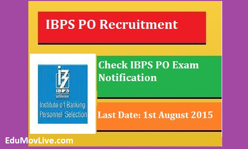 IBPS PO Recruitment 2015