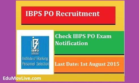 IBPS PO Recruitment 2015