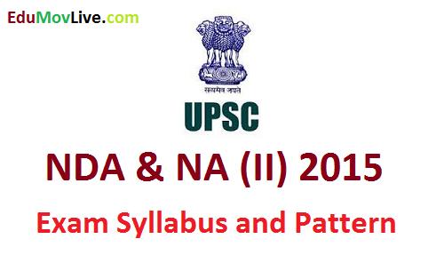 NDA & NA 2 2015 Exam Syllabus