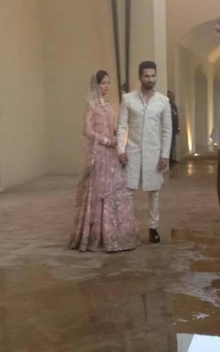 Shahid Kapoor Mira Rajput Wedding