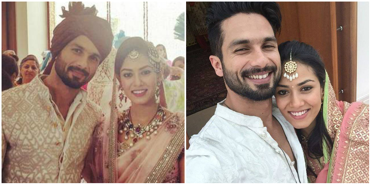 Shahid Kapoor and Mira Rajput Wedding