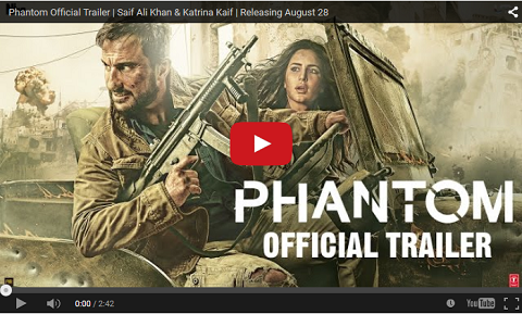 Phantom Movie Official Trailer
