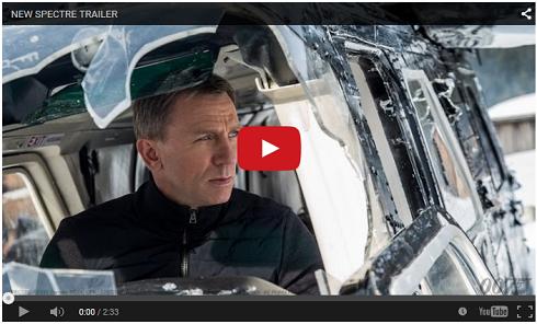 James Bond Scpetre Official Trailer