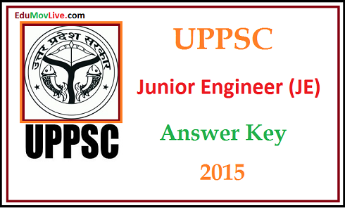UPPSC JE Answer Key 2015