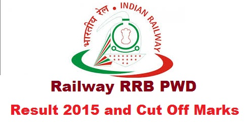 RRB Ajmer PWD Result 2015