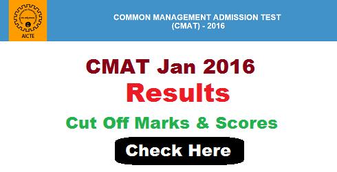 CMAT 2016 Result