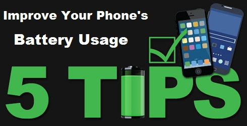 Increase Phone Battery Usage