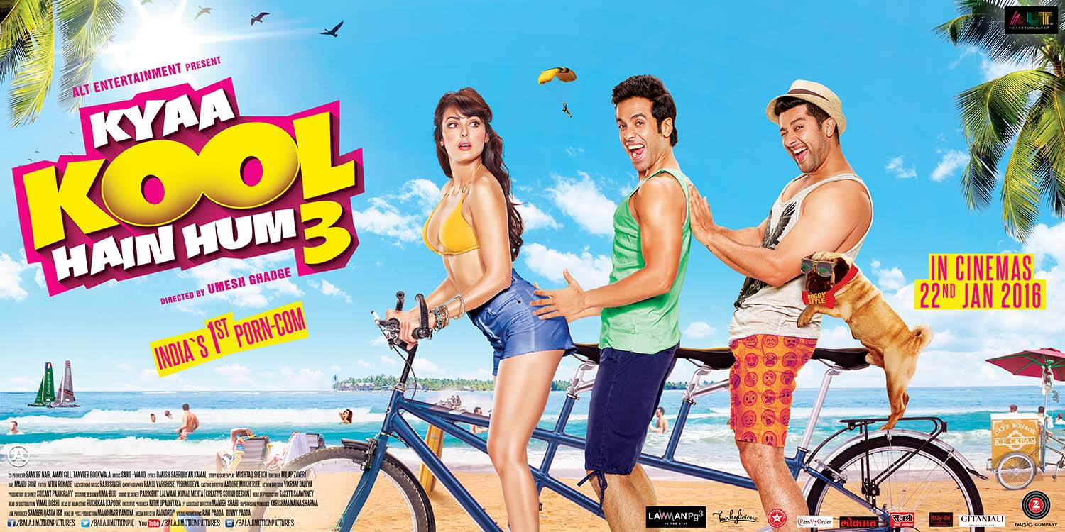 Kya Kool Hain Hum 3 first day box office collection