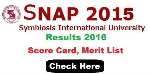 SNAP 2016 Result