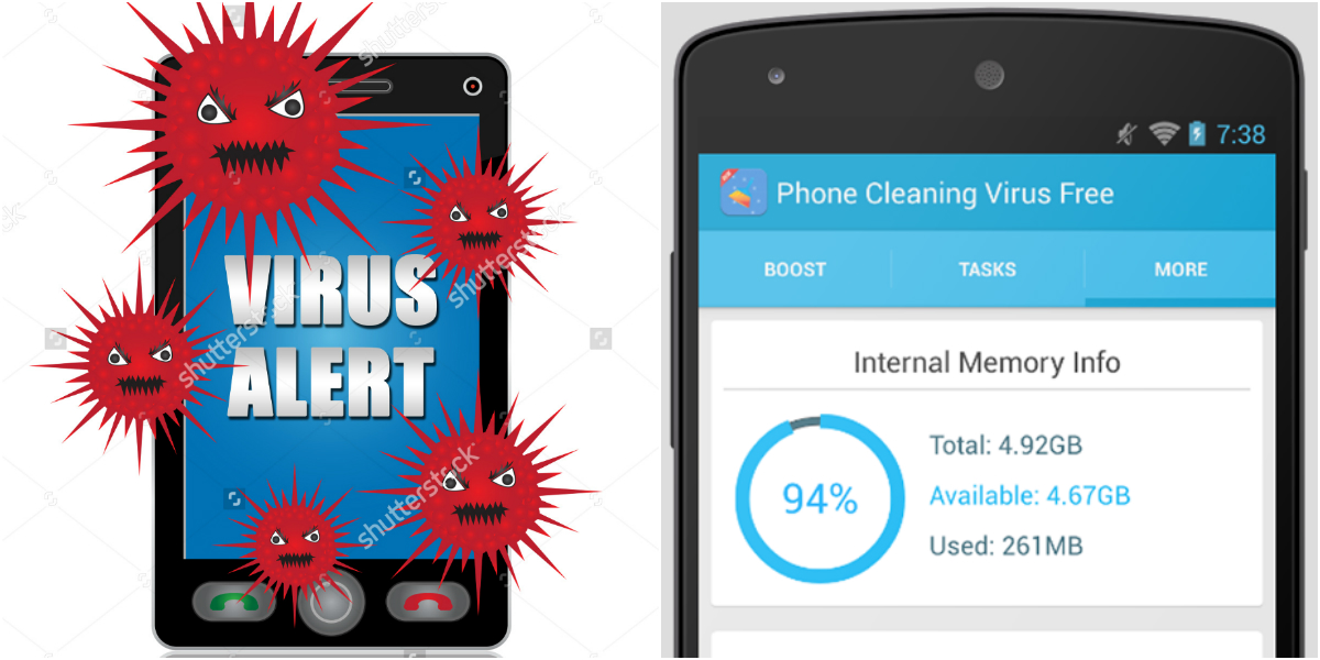 Save Mobile Phone from Virus