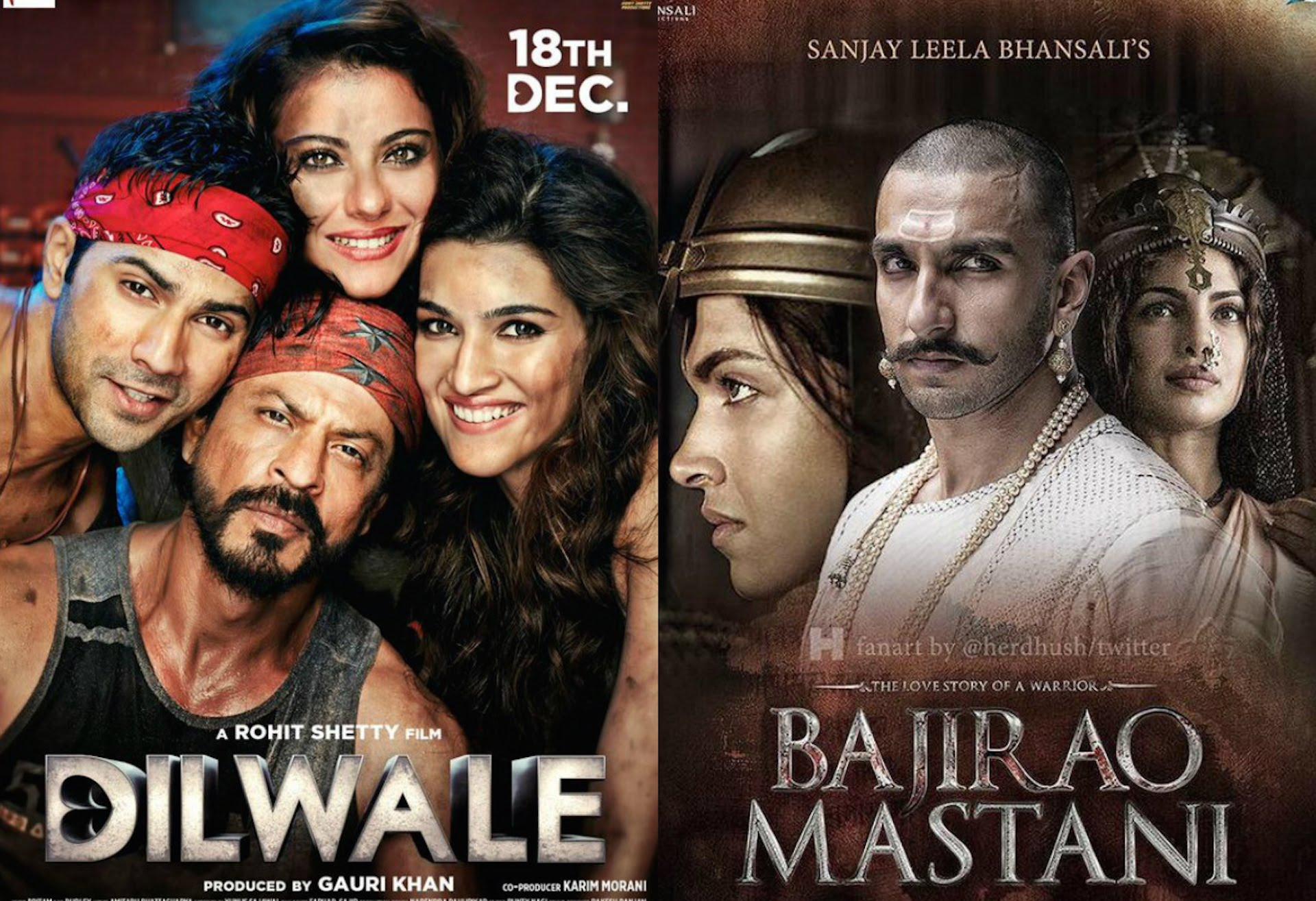 Bajirao Mastani Vs. Dilwale 18 Days Box Office Collection