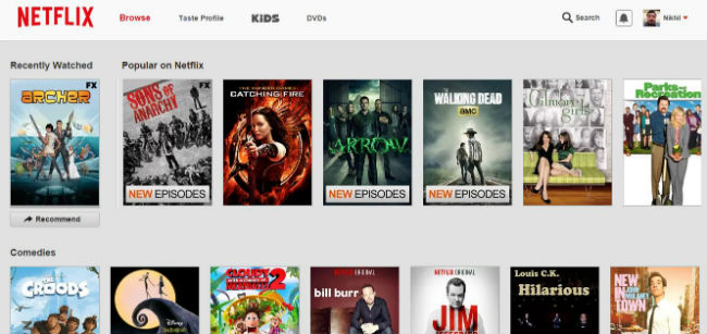 Netflix launches in India