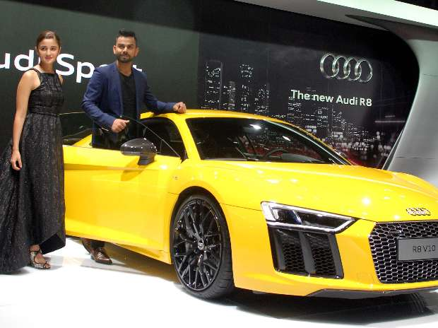 audi r8 v10 plus launched in india for rs crore. Black Bedroom Furniture Sets. Home Design Ideas