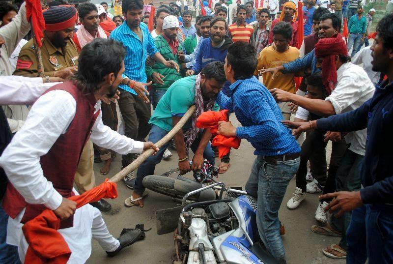 Jat Andolan in Delhi, Haryana