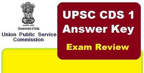 upsc cds 1 answer key 2016