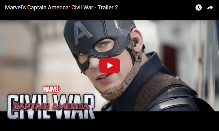 Captain America Civil War Trailer 2