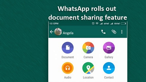 WhatsApp: Messaging App Adds Document- Sharing Feature in Latest Updates for iOS and Android