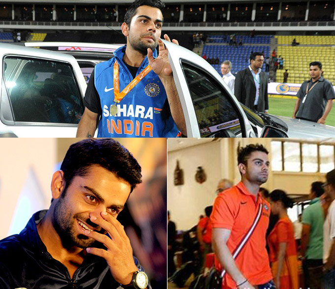 Virat Kohli Became India's Most Stylish Cricketer