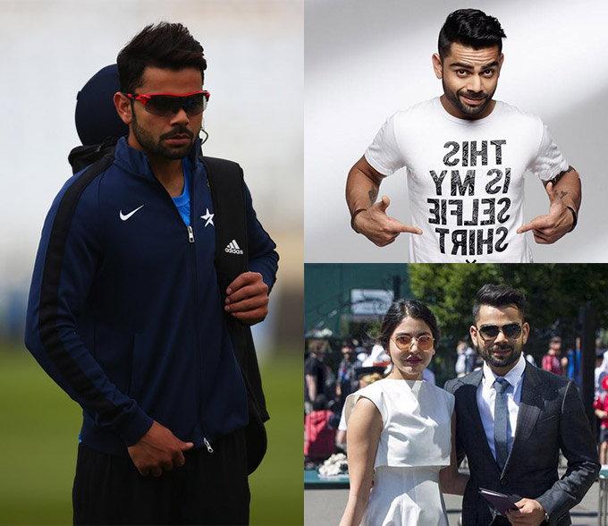 Virat Kohli Became India's Most Stylish Cricketer