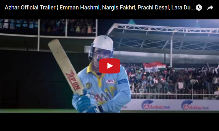 Azhar Official Trailer