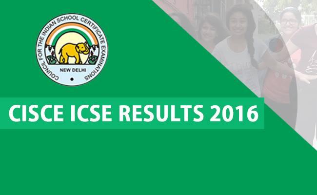 CISCE ICSE Result 2016 Declared