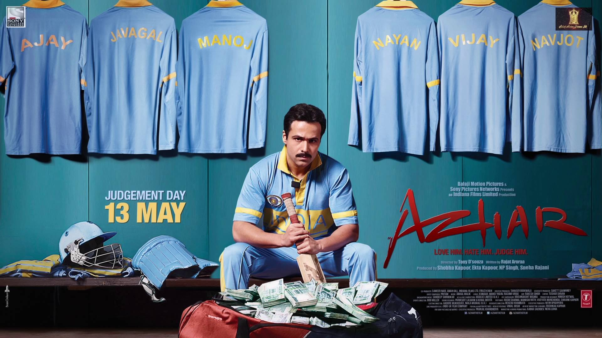 Azhar Review IMDB, Star Rating, Story, Casts Details