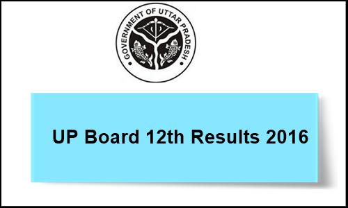 UP Board Intermediate Result 2016