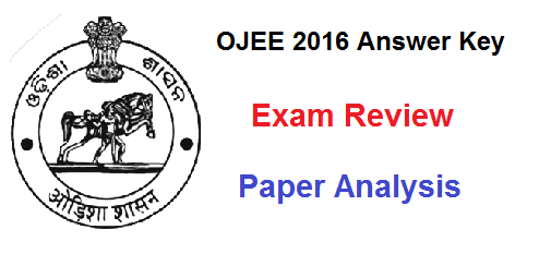 ojee 2016 answer key