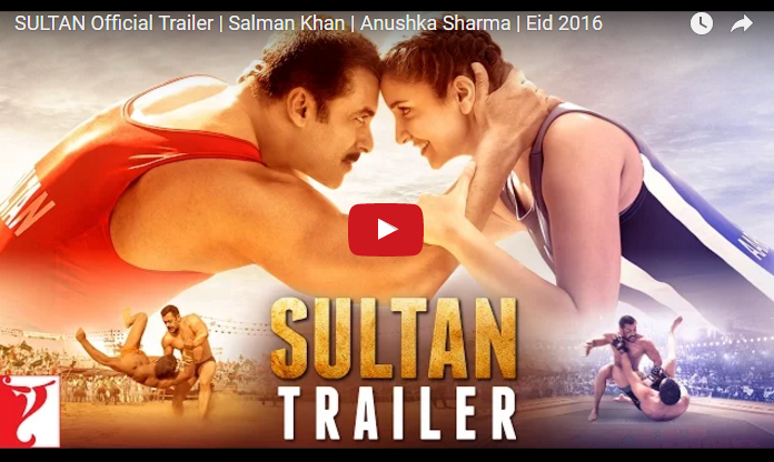 Salman Khan's Sultan Official Trailer