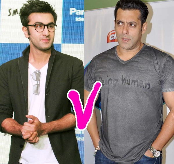 Salman Khan and Ranbir Kapoor