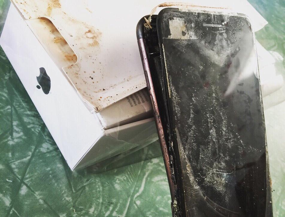 iPhone 7 is Exploding