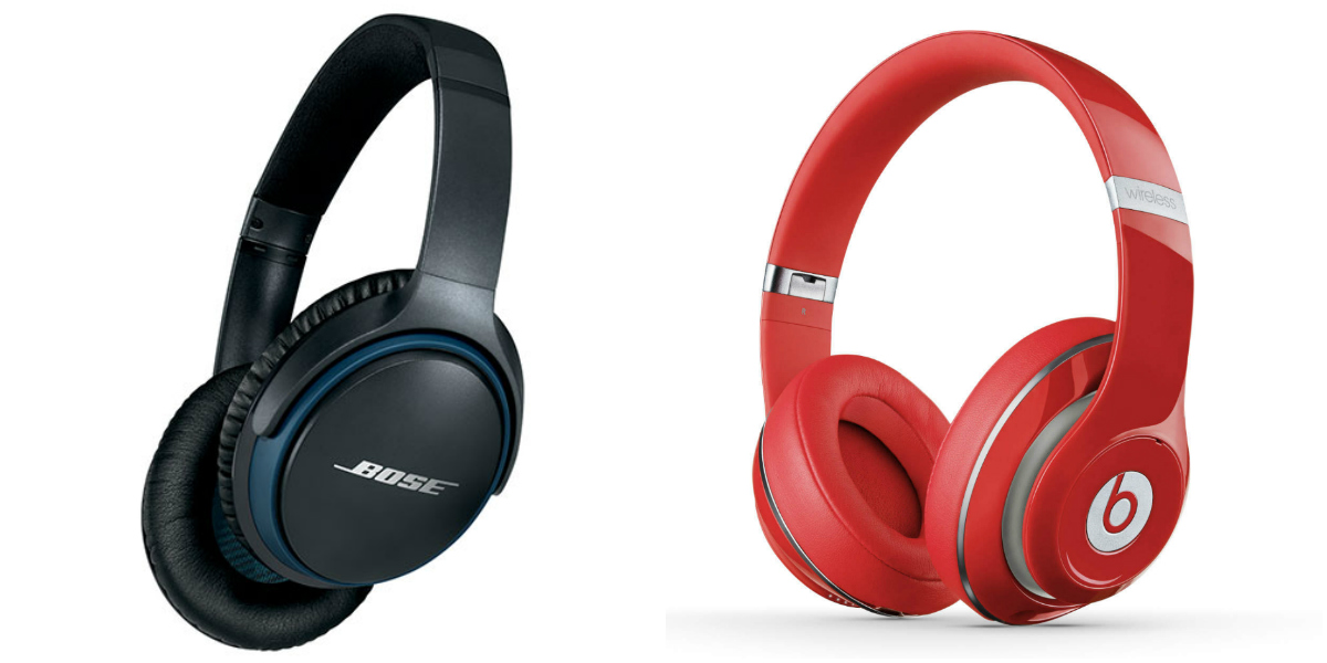 best wireless headphones- bose and beats