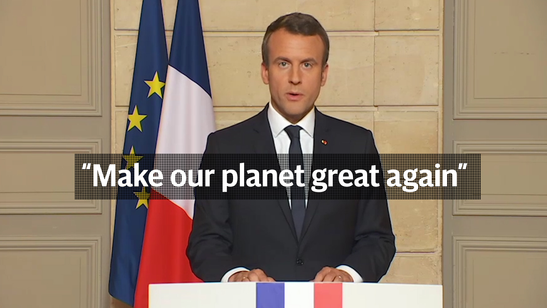 make planet great again- France ban