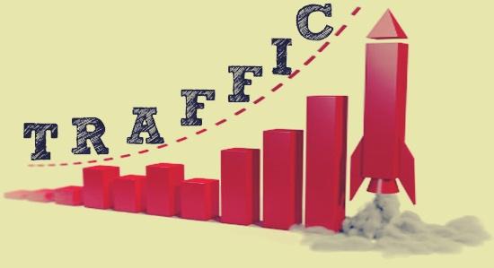 Increasing ecommerce website traffic