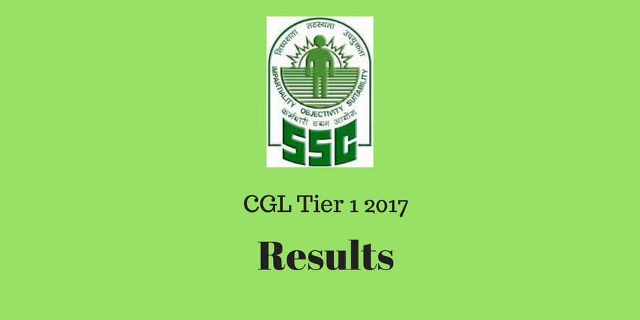 cgl tier 1 result 2017