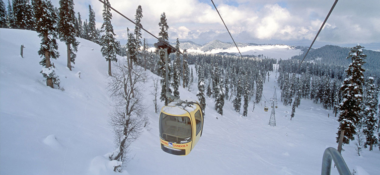 gulmarg jammu and kashmir hill station in India