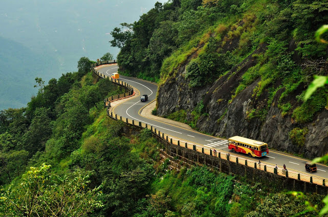 Wayanad kerala hill station in India