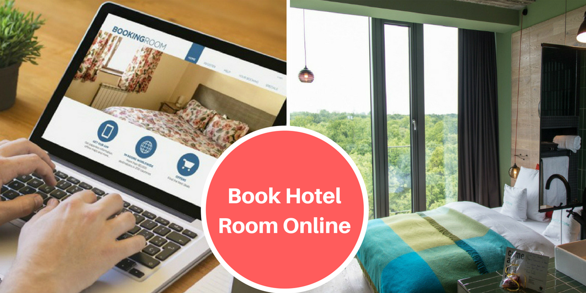 booking a hotel room online