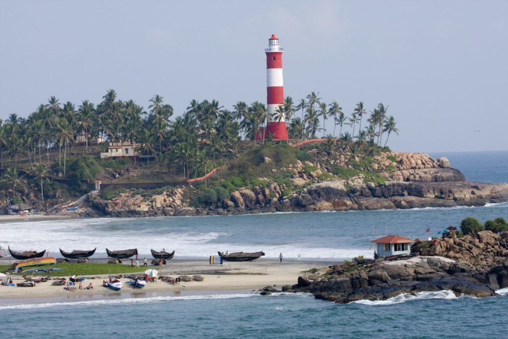 Kovalam of Thiruvananthapuram
