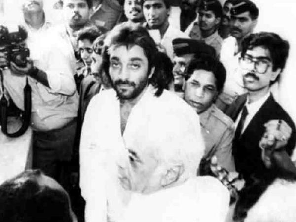 sanjay dutt was arrested before Khalnayak