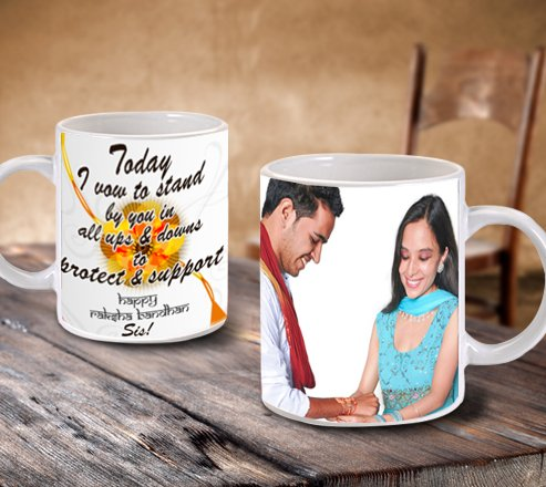 Personalized Crockery for sister