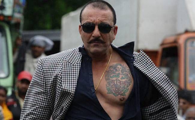 sanjay dutt tattoo