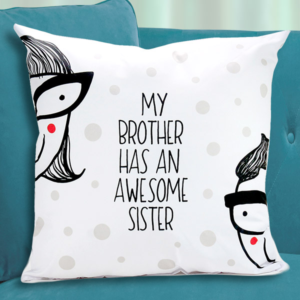 Personalized Cushions for Brothers