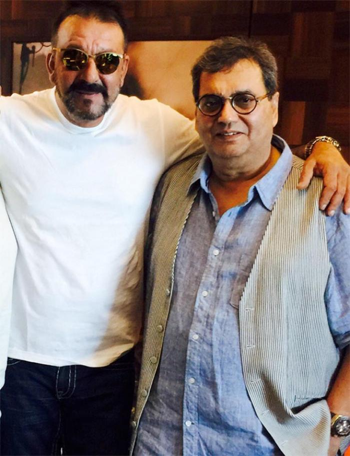 Subhash Ghai and sanjay dutt